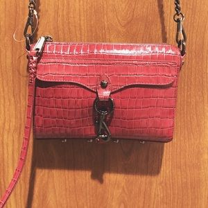 Rebecca Minkoff Mini MAC Crossbody Cardinal